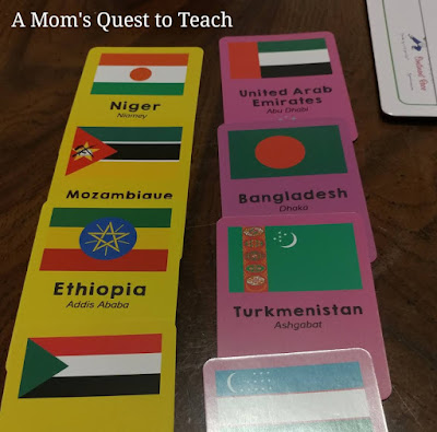 Continent Race cards