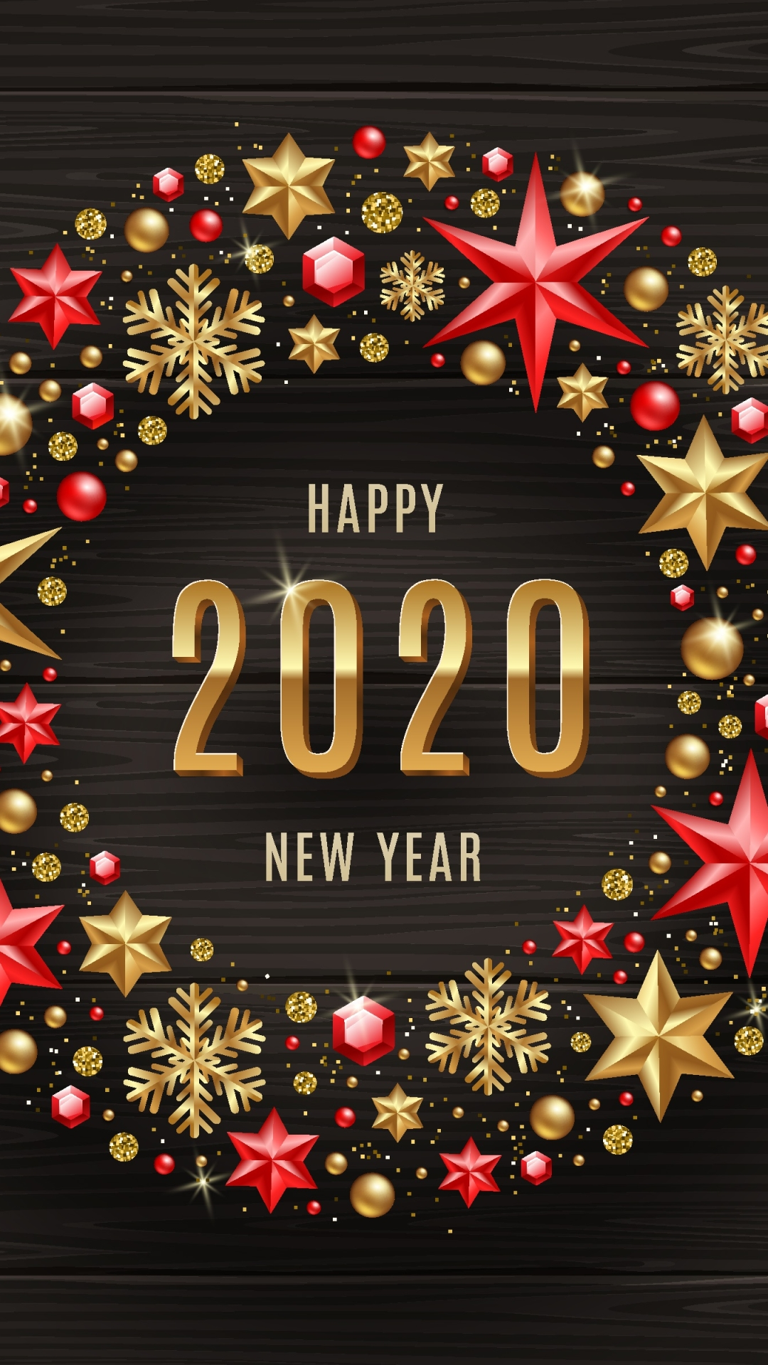 Happy New Year 2020 Wishes Wallpaper