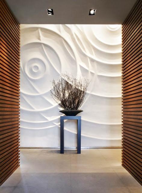 Pvc Wall Panels : Decorative d wall panels for unusual decor