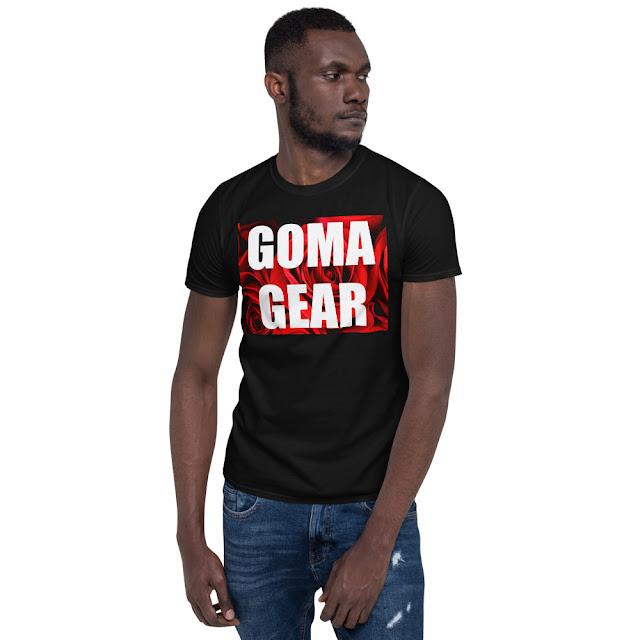 GOMAGEAR ROSES T-SHIRT - MEN