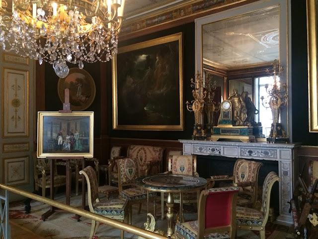 The Gilded Room, Château de Malmaison, France