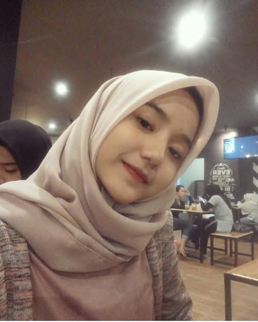 Beautiful Young Girl in Hijab