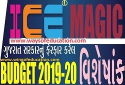 GUJARAT BUDGET 2019-20 BY ICE RAJKOT