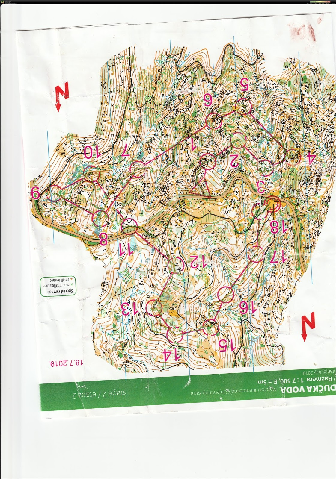 Sava Lazic Orienteering Blog Long And Middle Distance Runner