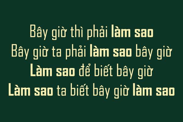 Việt Font : [Sans-serif] Agency FB Regular & Bold Việt hóa