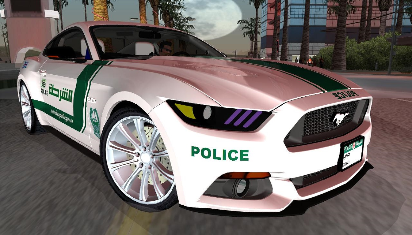 2017 Ford Mustang Gt5 0 Dubai Police