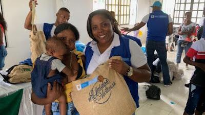 Habitantes de Lloró reciben ayudas de la unidad para la atención y reparación integral de las víctimas