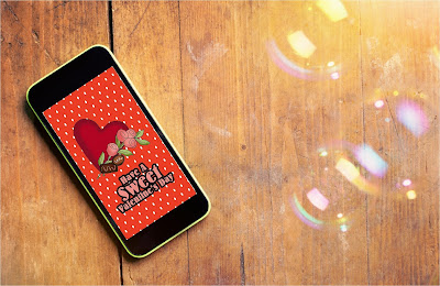 Decorate for Valentine's day with these pretty Valentine iPhone wall papers.  Your phone will be as cute as the rest of your Valentine's decorations to help put you in a fun Valentine spirit.