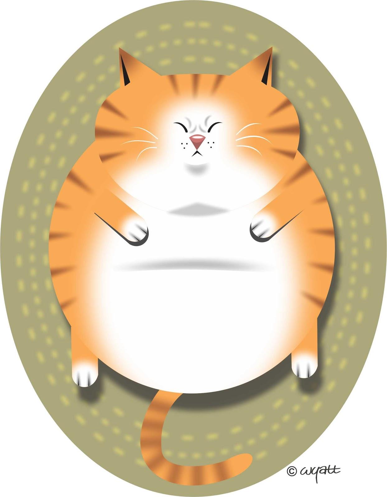 clipart fat cat - photo #25