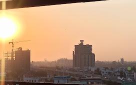Sunset Photo Pink City Jaipur