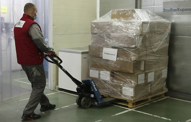 Over 230,000 sets of the EpiVacCorona vaccine shipped to 40 Russian regions