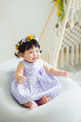 沖縄 写真スタジオ 百日 家族写真