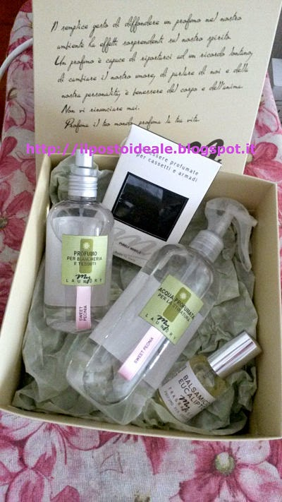 My Laundry box My Fragrances