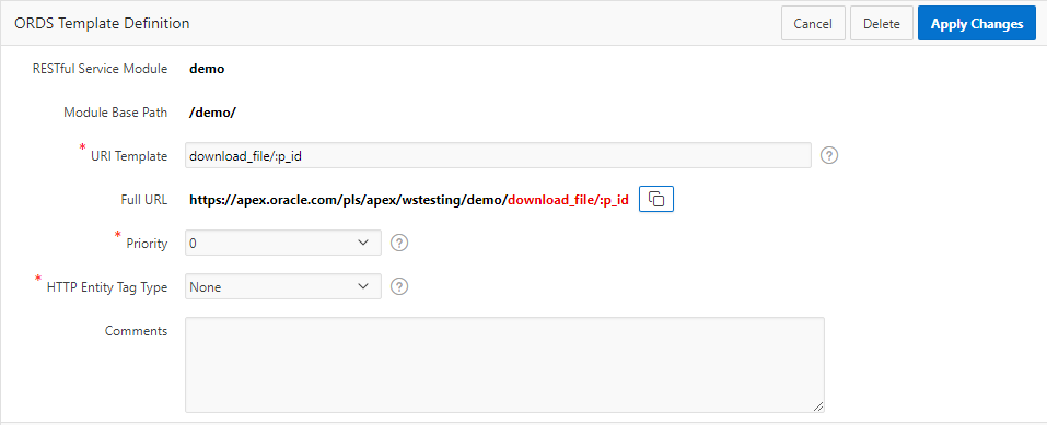 Create RESTful web service to download BLOB content | Blogs on