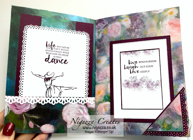 Nigezza Creates with Stampin' Up! Perennial Essense Journal