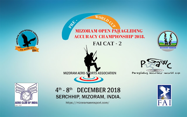 Paragliding Accuracy Championship 2018 ,Mizoram ,India