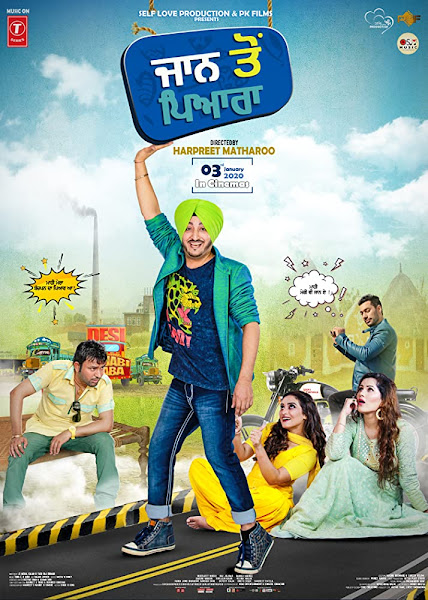 Jaan to Pyara (2020) Full Movie Punjabi 720p HDRip ESubs Download