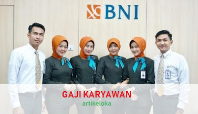 Gaji Pegawai Bank BRI, BNI, BCA
