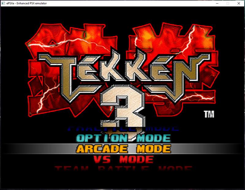 Tekken 3 ePSXe