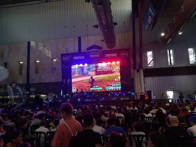 Escenario de Fortnite en Gampolis 2K18