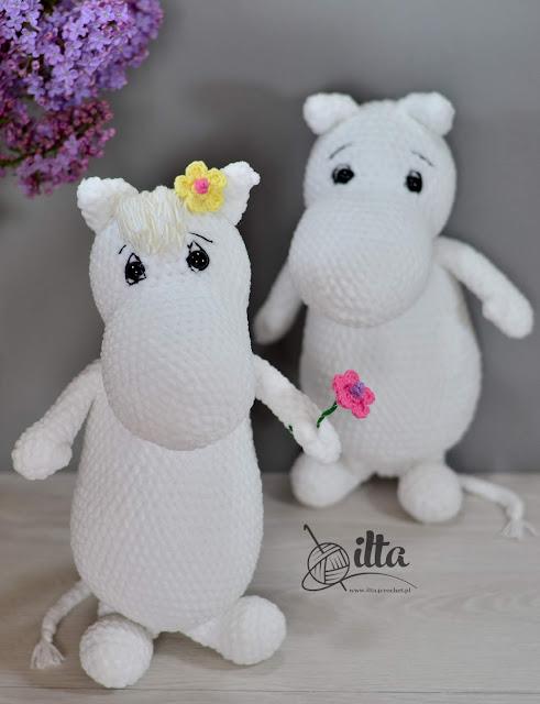 Moomins crochet amigurumi