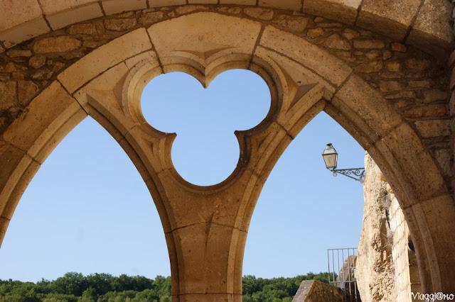 Scorci di Rocamadour dai santuari