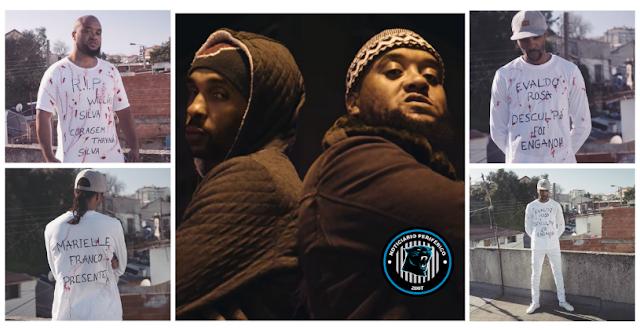 Genocídio | Os rappers Tchapo e Sousa Mentis Afro rimam sobre genocídio da população negra