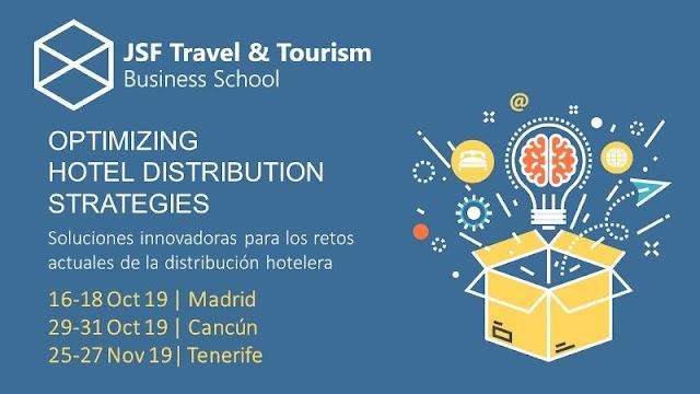 Tenerife y Madrid, dos de las sedes del programa internacional JSF Travel & Tourism sobre las tendencias en la distribución hotelera