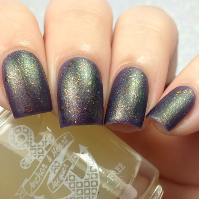 Anchor & Heart Lacquer-Sea Glass Matte Top Coat