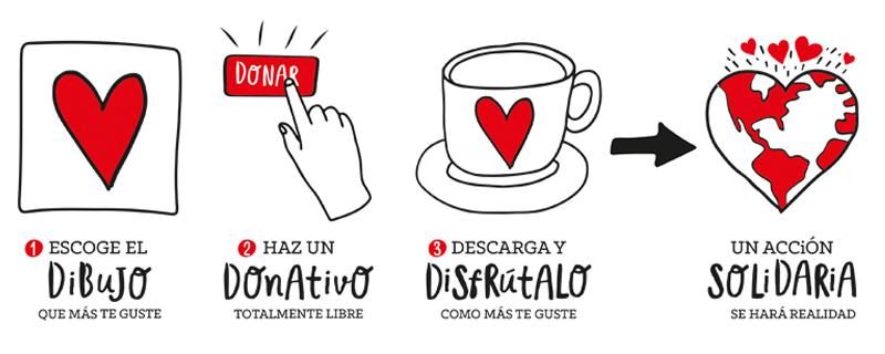 Proyecto solidario Dibujos por sonrisas