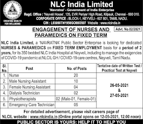 NLC Recruitment नेवेली लिग्नाइट कॉर्पोरेशन लिमिटेड में भर्ती