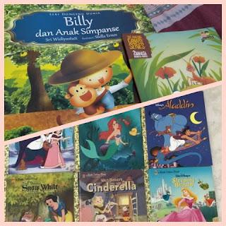 koleksi buku cerita anak dan dongeng