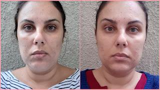 Doses Concentradas de Preenchimento Facial Renew Avon resenha dicas da tia antes e depois 1