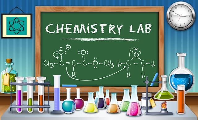 نماذج لأسئلة نصف السنة لمادة الكيمياء للصف السادس العلمي 2017