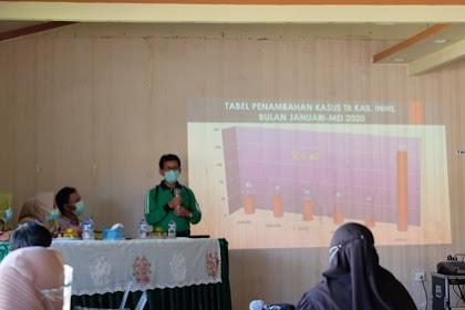 Diskes Inhil Mencatat, Rata-rata 40 Orang Menderita TB Setiap Bulan