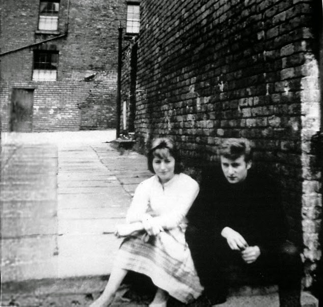 Early Photos of Cynthia and John Lennon as Teenagers in ...  Early Photos of...