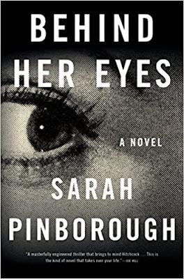 cover of psychological thriller novel Behind Her Eyes