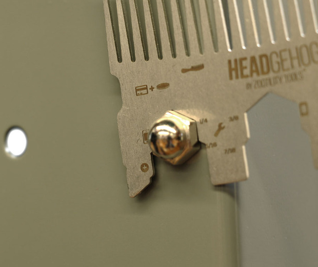 The Headgehog Multi-Function Comb
