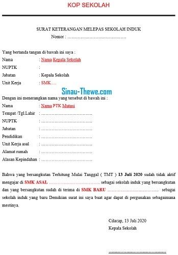 Contoh Surat Untuk Guru - SiswaPelajar.com
