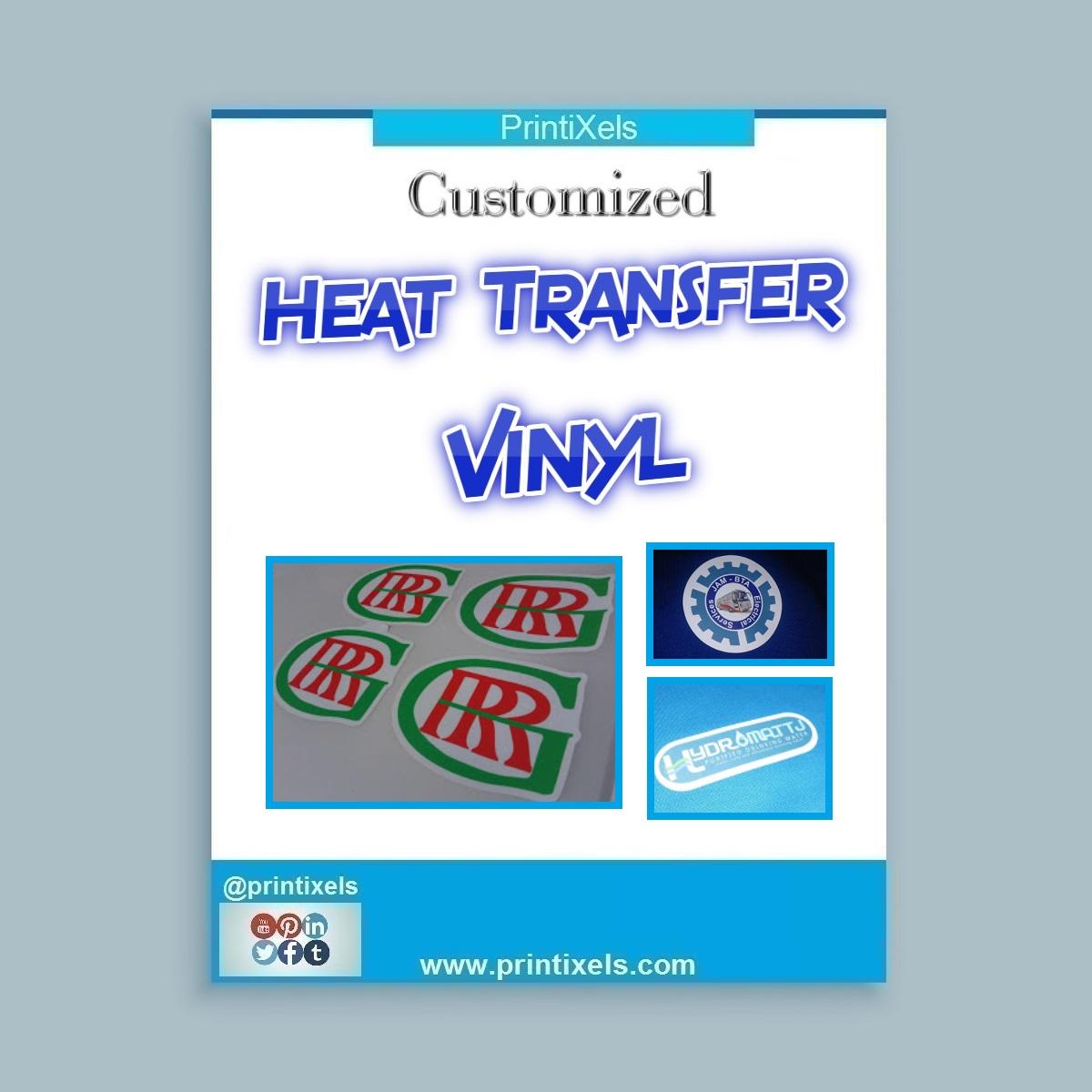 Customized Heat Transfer Vinyl Philippines