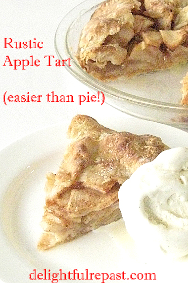 Apple Galette - ThermoWorks TimeStack Giveaway / www.delightfulrepast.com
