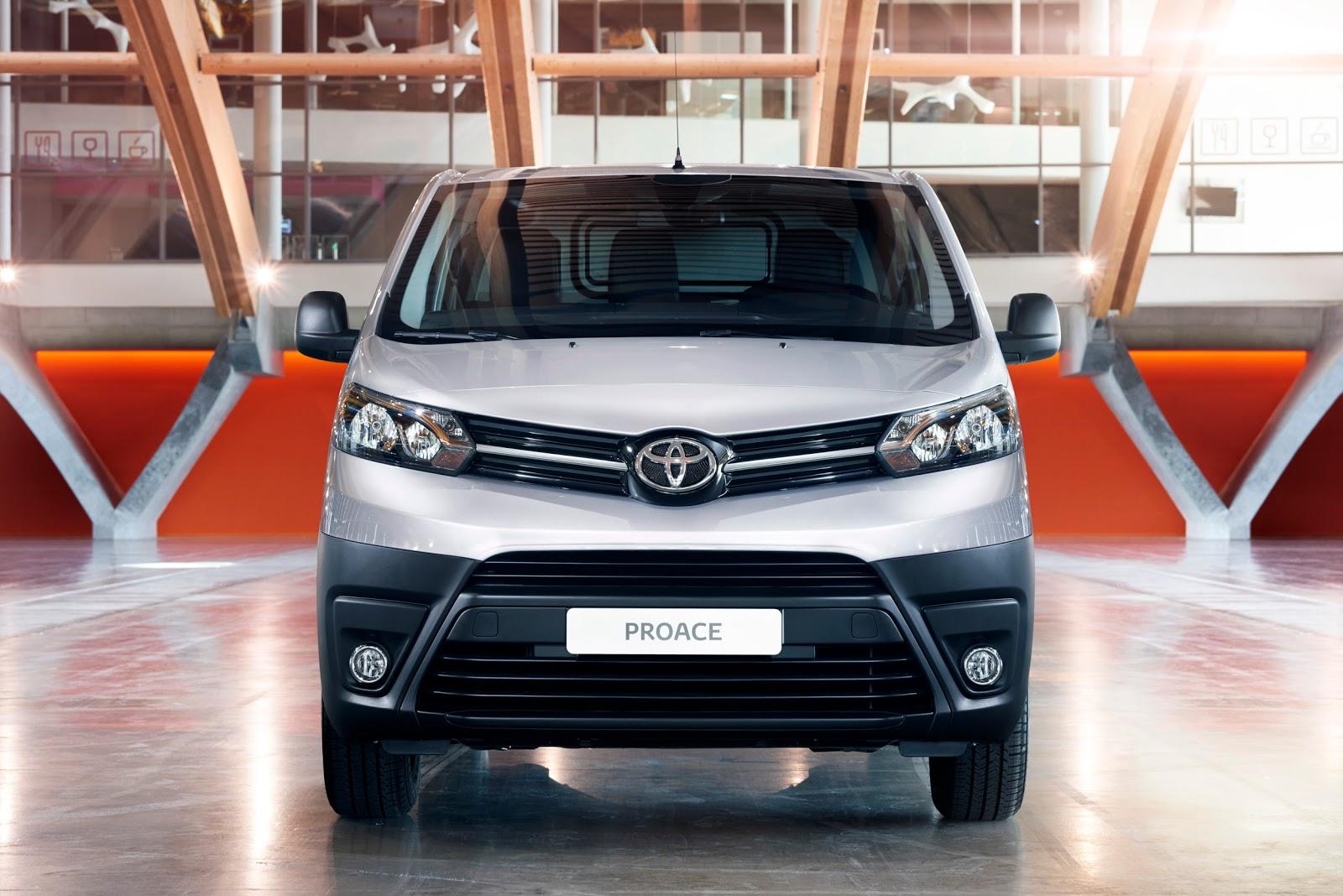 Đánh giá xe Toyota Proace 2016