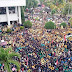 Blokade Polisi Bobol Lagi, Pengunjukrasa Rusak Gedung DPRD Sumbar