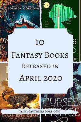 10 Fantasy Books Released in April 2020