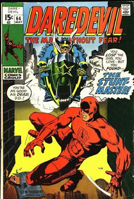 Daredevil #64, the Stunt-Master
