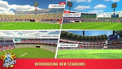 Epic Cricket New Stadium