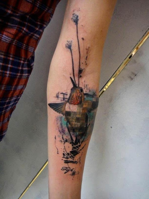Masterpiece tattoos from the French tattoo master