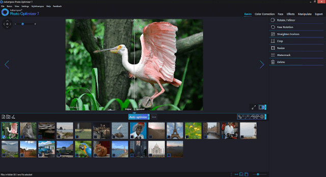 برنامج اشامبو محرر الصور الرقمية