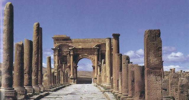 Ruinas romanas y Derecho romano