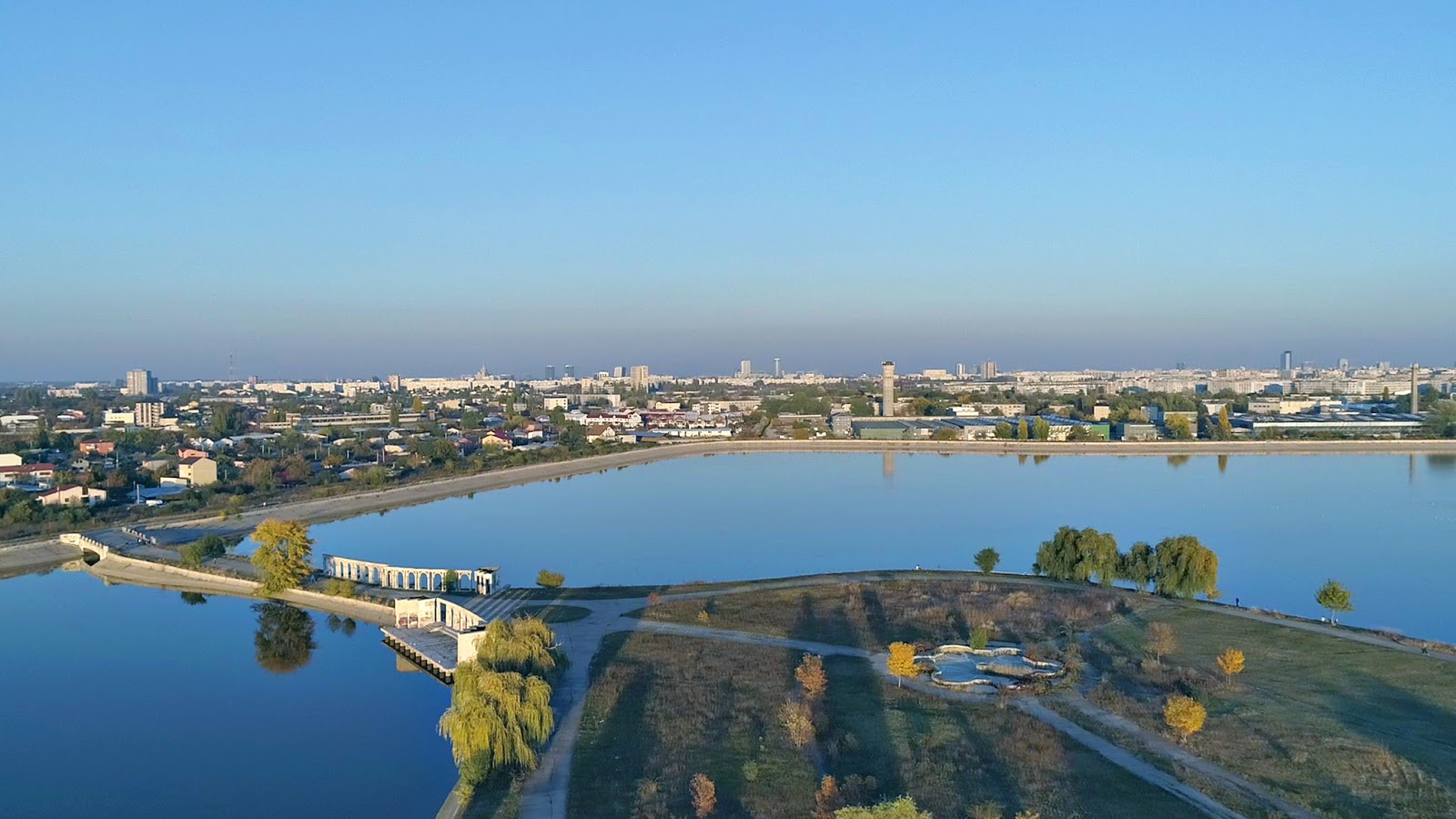 Fotografii aeriene drona in Bucuresti